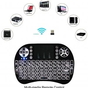 صفحه کلید و موس بیسیم مدل Loopan i8 Mini Wireless Keyboard and Mouse