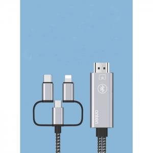 کابل 3 به  1 mhl  موبایل با کیفیت 4K اونتن مدل OTN-7539