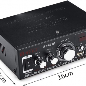 آمپلی فایر بلوتوث مدل Car Home Bluetooth Radio Car Amplifier BT-699D