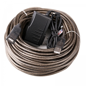 افزایش طول 30 متری usb دیتک  مدل  DTECH DT-5043 USB Extension Cable 30 Meter