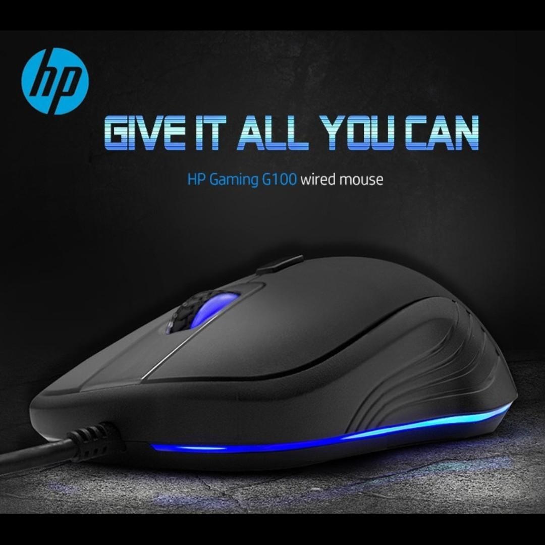 خرید ماوس سیم دار اچ پی مدل HP G100