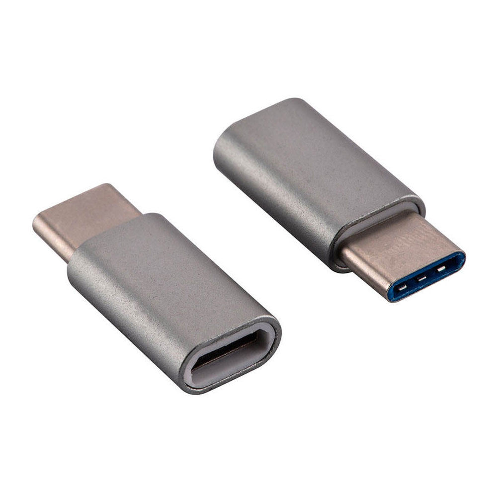 Fashion microUSB to USB-C Adapter