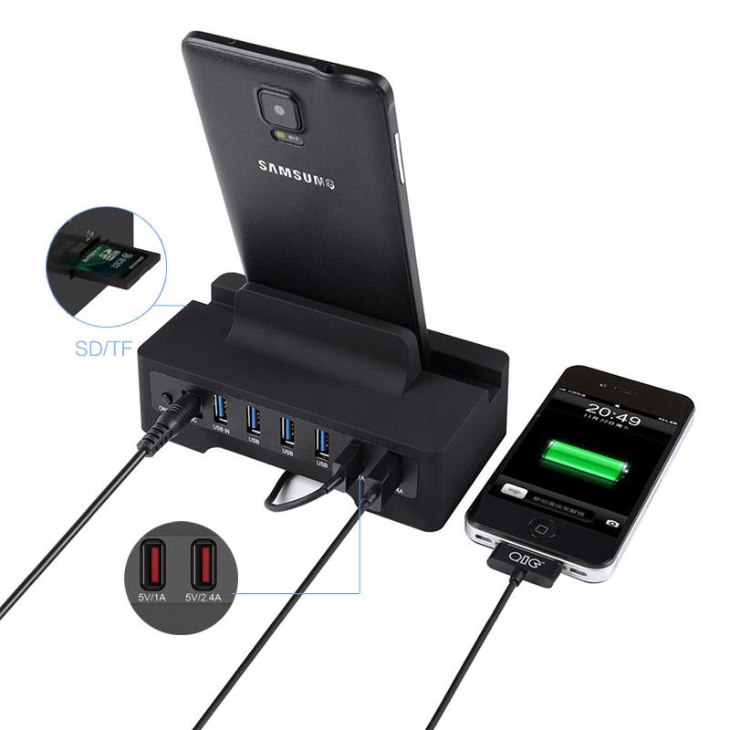 Orico HSC3-TS 6 Port USB 3.0 Hub with Dock