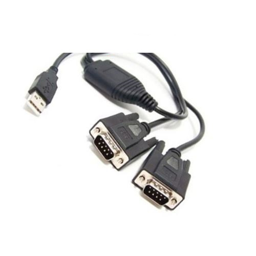 کابل تبدیل USB به 2x Serial بافو مدل BF-816
