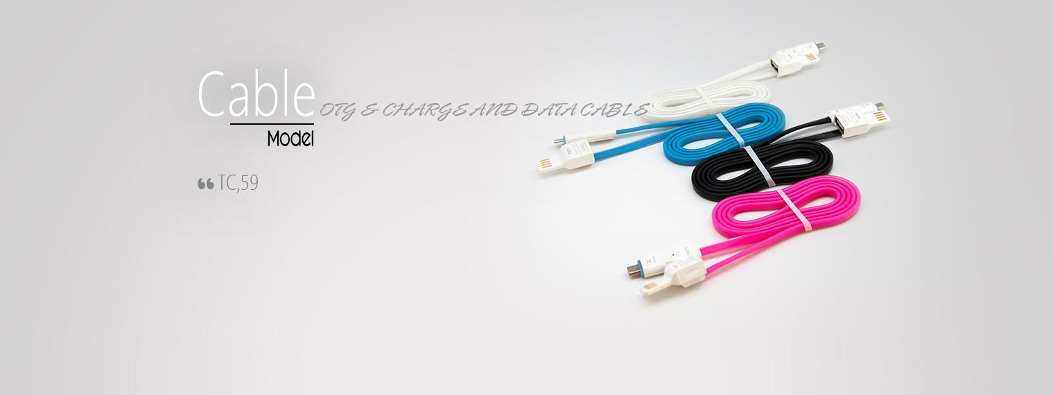 TSCO TC 59 USB To microUSB Cable 1m