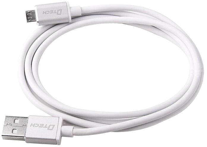 کابل تبدیل USB به Micro-USB دیتک مدل Dtech DT-T0013 با طول 1 متر
