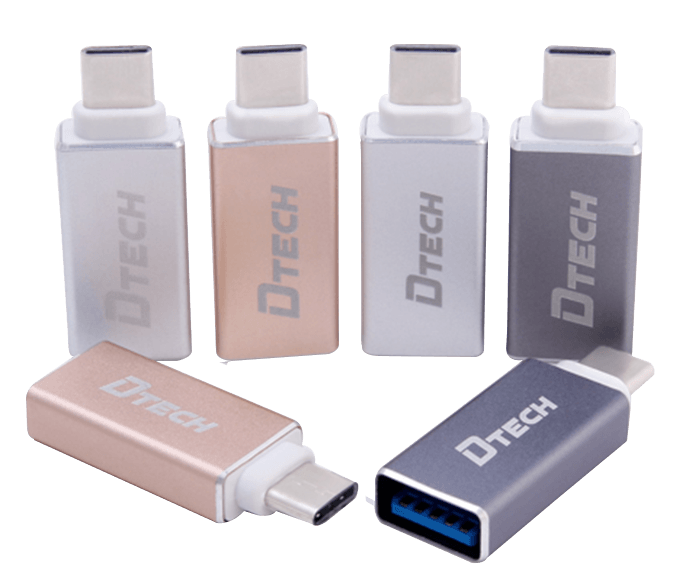 مبدل Type-C به USB-3 دیتک مدلDtech DT-T0001A Type-c to USB-3 Converter