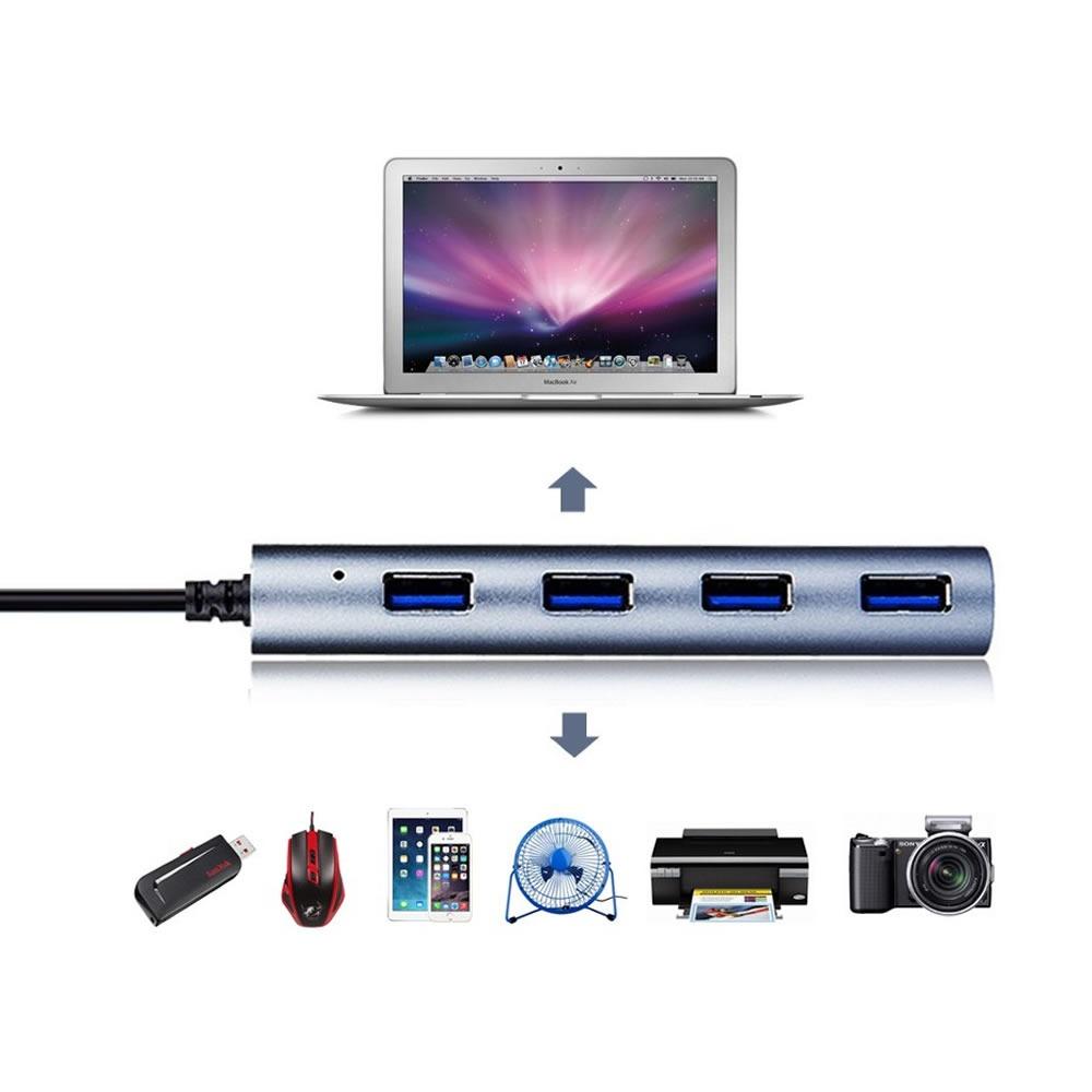 Wavlink WL-UH3048 USB3.0 4 Ports Hub