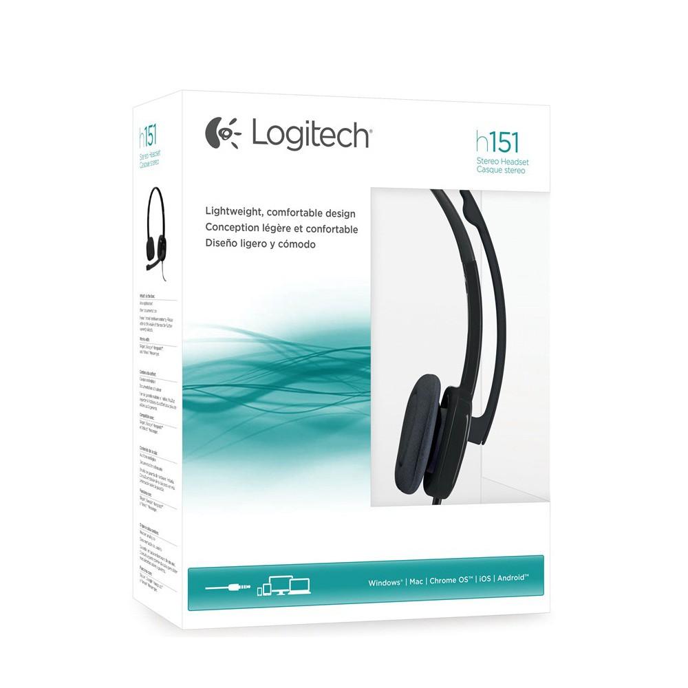 Logitech H151 AG BLACK Headset