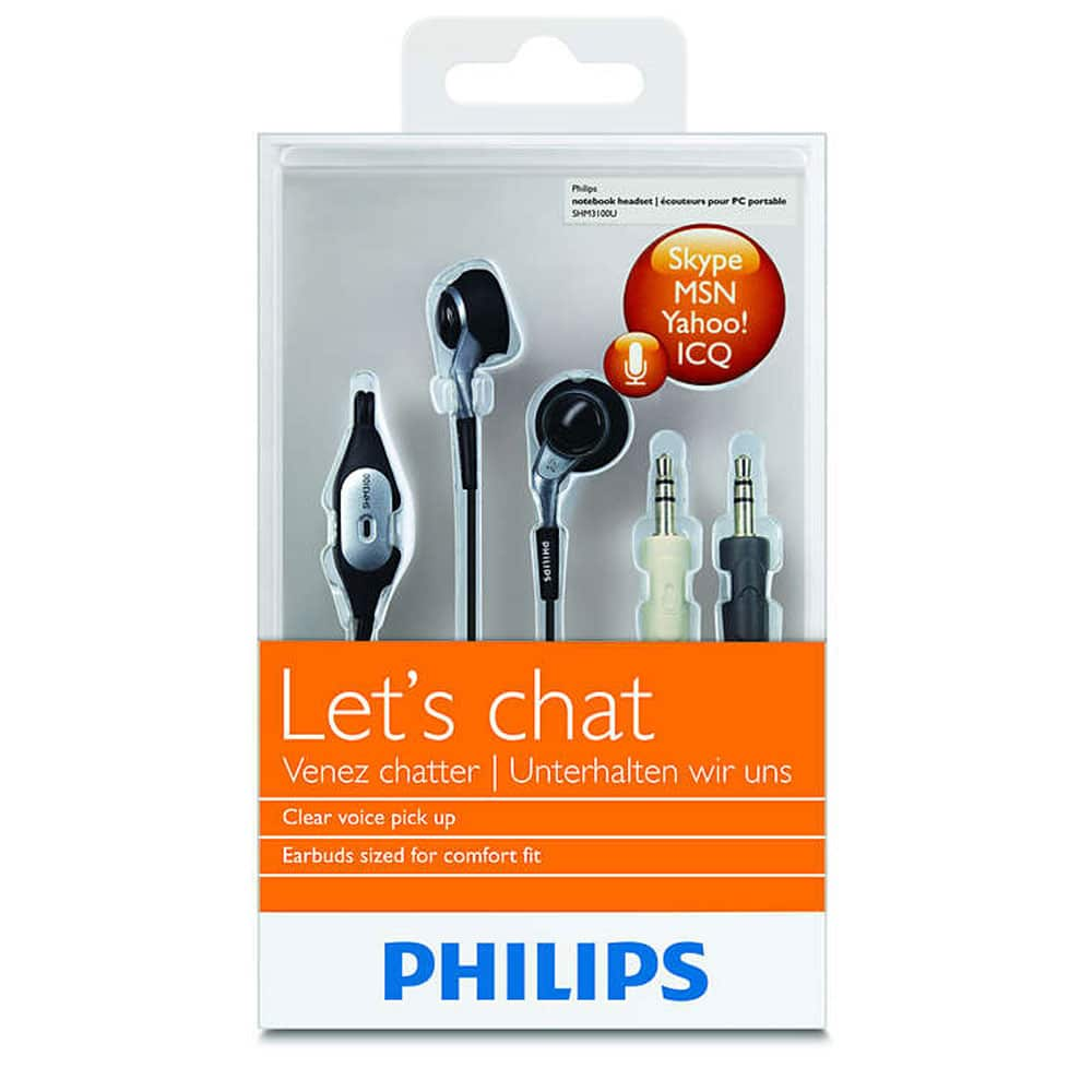 Philips Notebook SHM 3100 HeadSet
