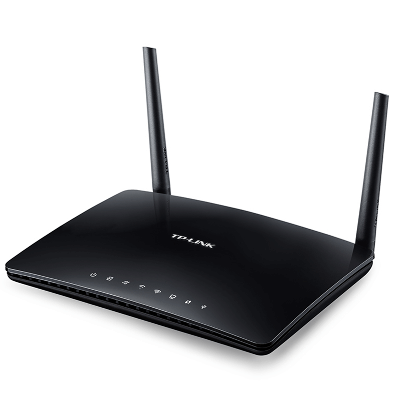 TP-LINK Archer D20 Wireless AC750 Dual Band ADSL2+ Modem Router - مودم روتر +ADSL2 بی‌سیم AC750 تی پی-لینک مدل Archer D20