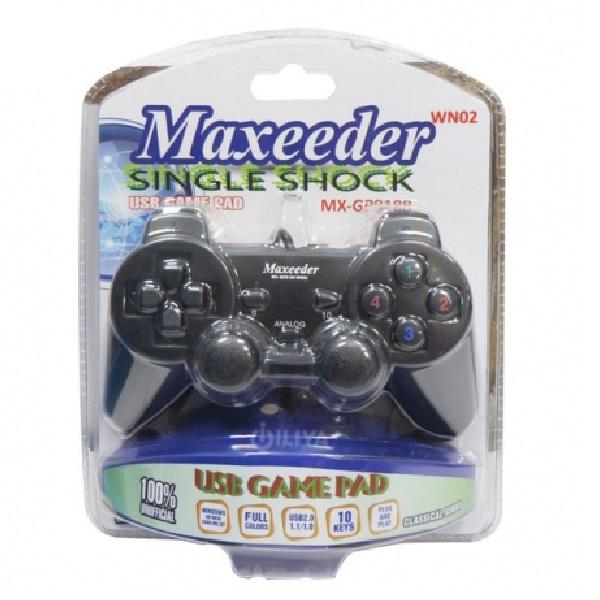 دسته بازی تک شوک دار باسیم مکسیدر MX-GP9100 WN02