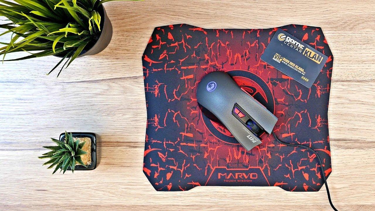 Scorpion M417-G1 Mouse- Mouse Pad - ماوس و ماوس پد اسکورپیون مدل M417-G1
