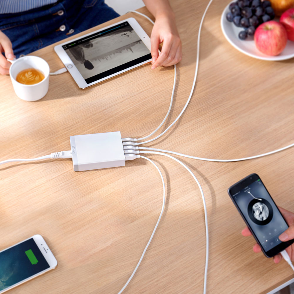 Wall Charger Anker A2123 Powerport 6 Port USB