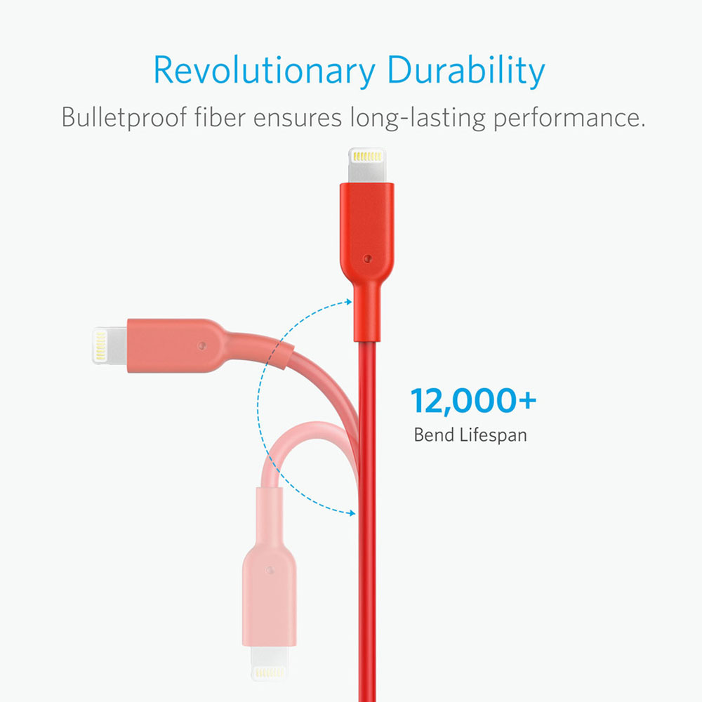 USB To Lightning Cable Anker A8434 - 3.0m