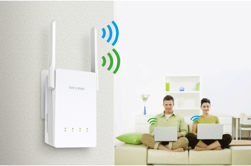 TP-LINK RE210 AC750 Universal Wireless Dual Band Range Extender - گسترش دهنده شبکه تی پی-لینک مدل RE210