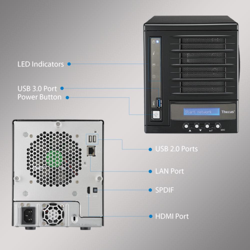 Network Storage Thecus Rackmont N4560