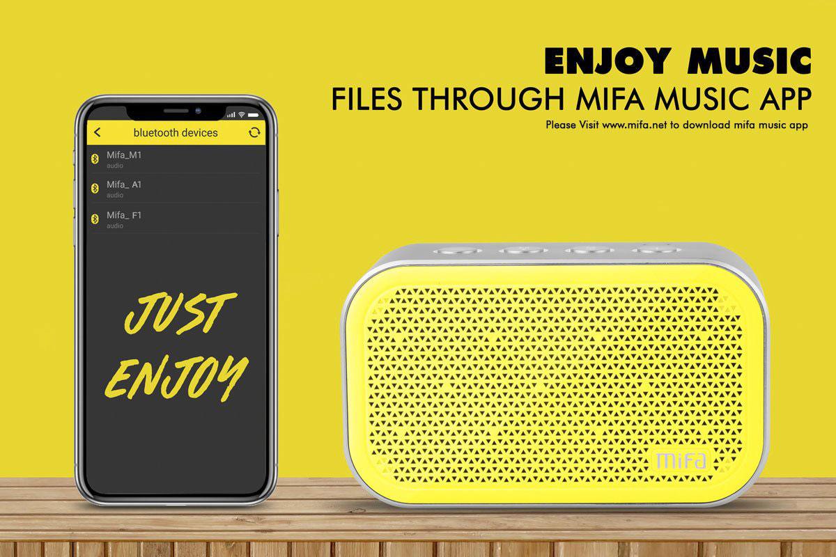 Mifa M1 Bluetooth Speaker1