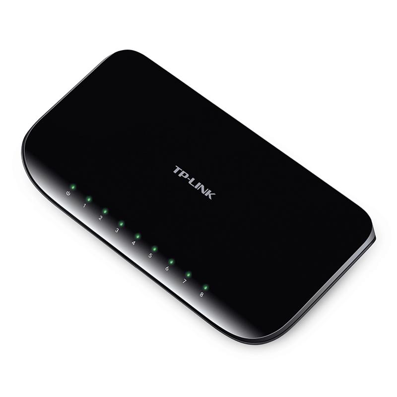 TP-LINK TL-SG1008D 8-Port Gigabit Desktop Switch - سوییچ 8 پورت گیگابیت تی پی-لینک مدل TL-SG1008D