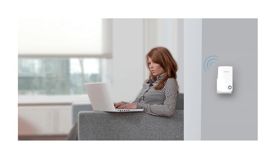 TP-LINK TL-WA850RE Wireless N300 Range Extender - تقویت کننده بیسیم N300 تی پی-لینک مدل TL-WA850RE