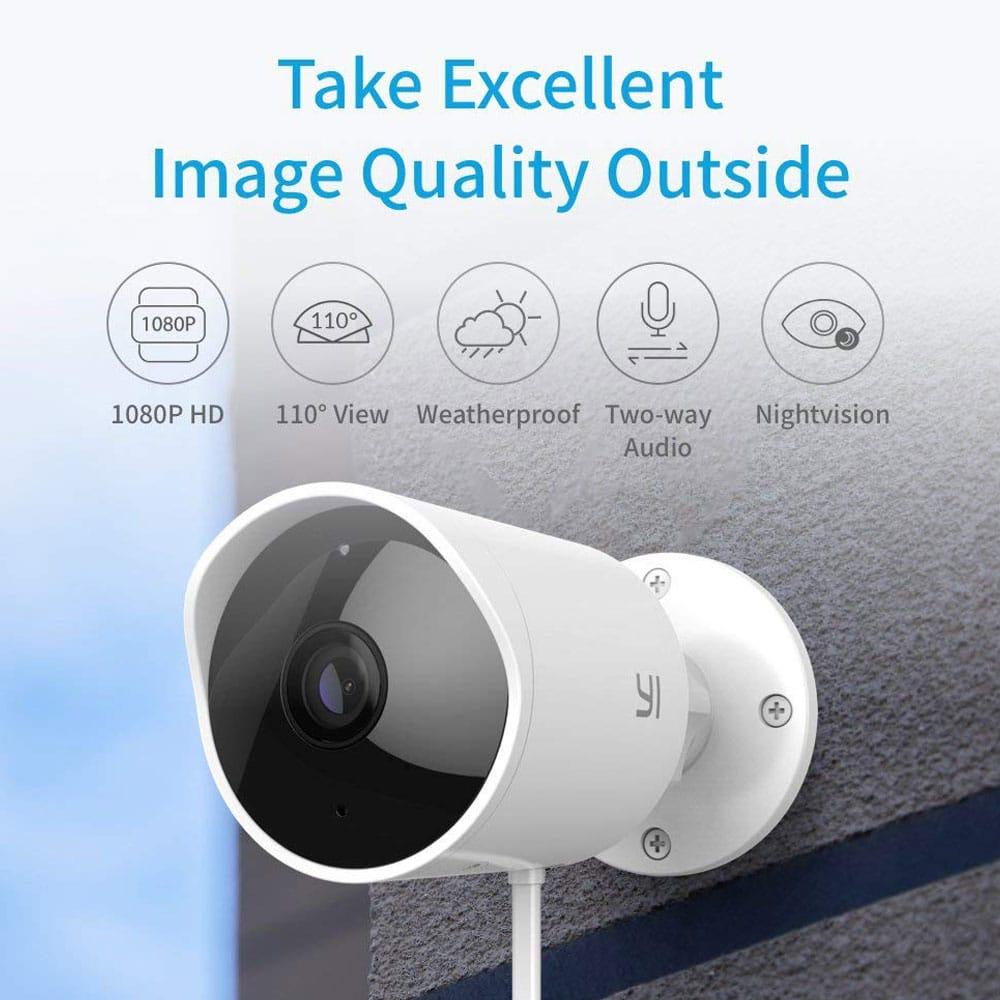 Xiaomi YI Outdoor Wi-Fi Security Camera
