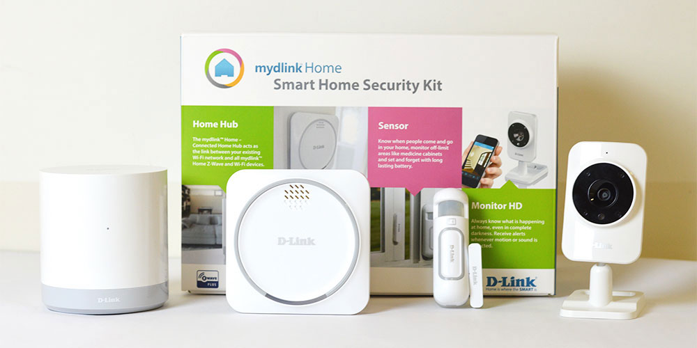 D-Link Kit DCH-107KT Smart Home Security - کیت امنیتی هوشمند دی-لینک مدل DCH-107KT