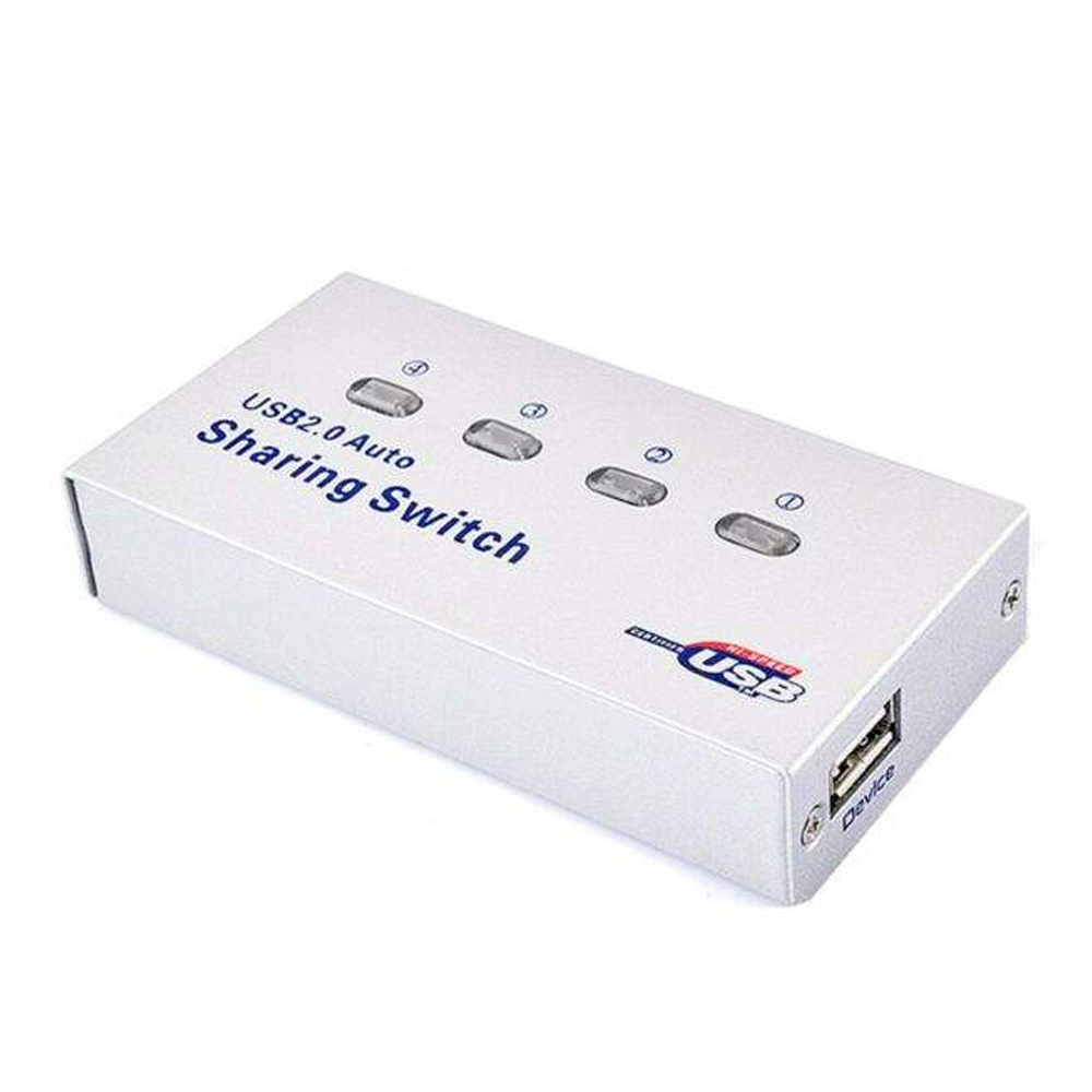 هاب سوئیچ 4 پورت پرینتر مدل MN-USB2.0