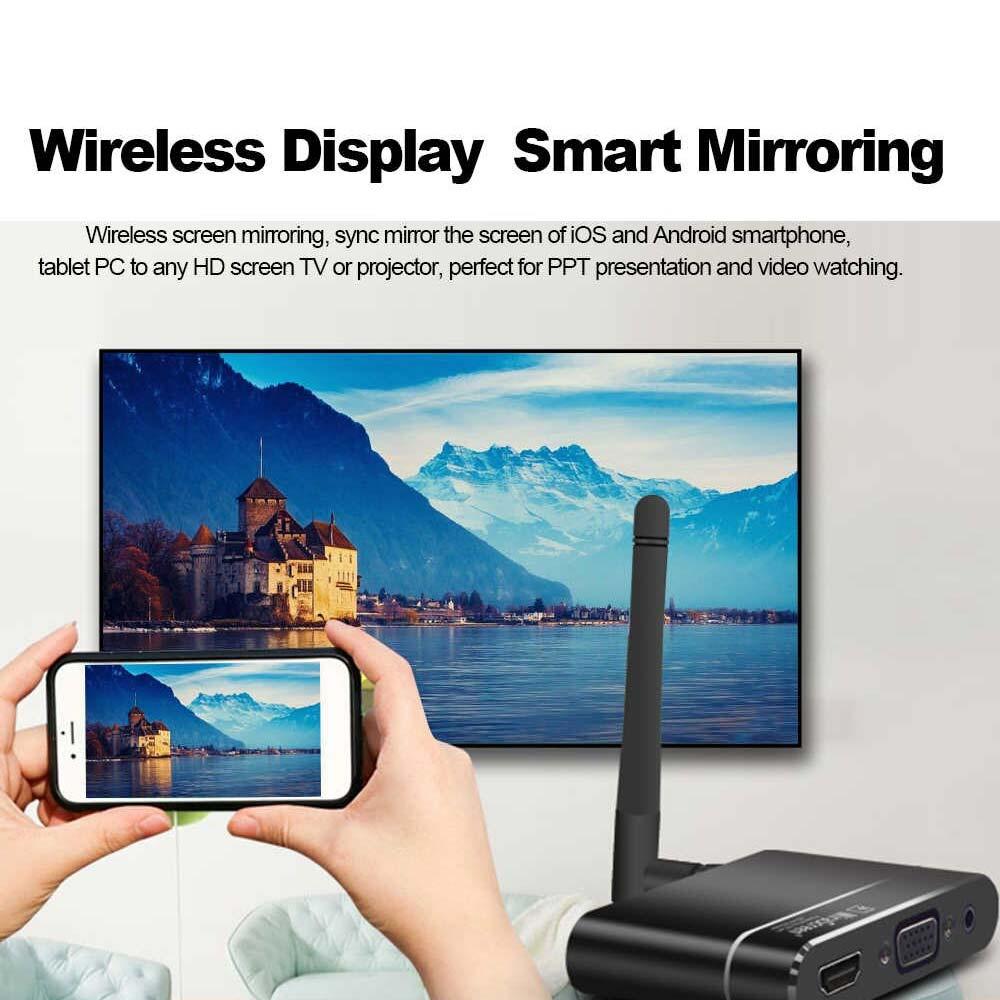 خرید دانگل میرااسکرین ، دانگل کمبو میرا اسکرین مدل x6w برای انتقال تصویر موبایل به تلویزیون