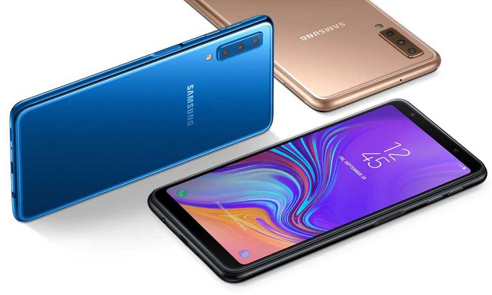 گوشی موبایل سامسونگ مدل Galaxy A7 2018