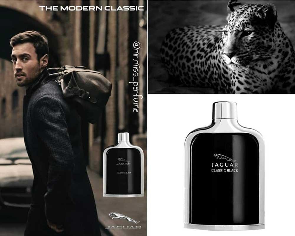 ادو تویلت مردانه جگوار Classic Black - قیمت Jaguar Classic Black Eau De Toilette