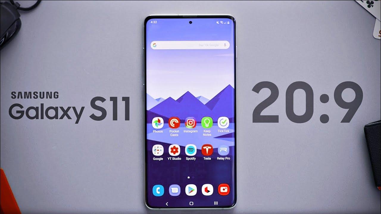 گوشی موبایل سامسونگ مدل گلکسی S11