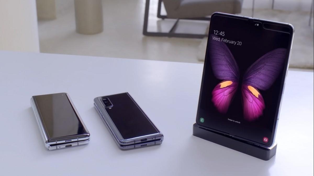 مشخصات و قیمت گوشی موبایل سامسونگ مدل گلکسی فولد