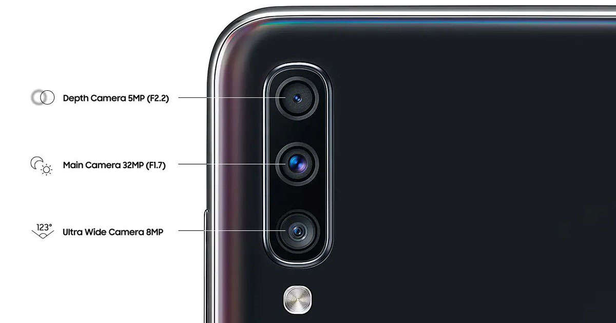 گوشی موبایل سامسونگ مدل Galaxy A70s ظرفیت 128 گیگابایت