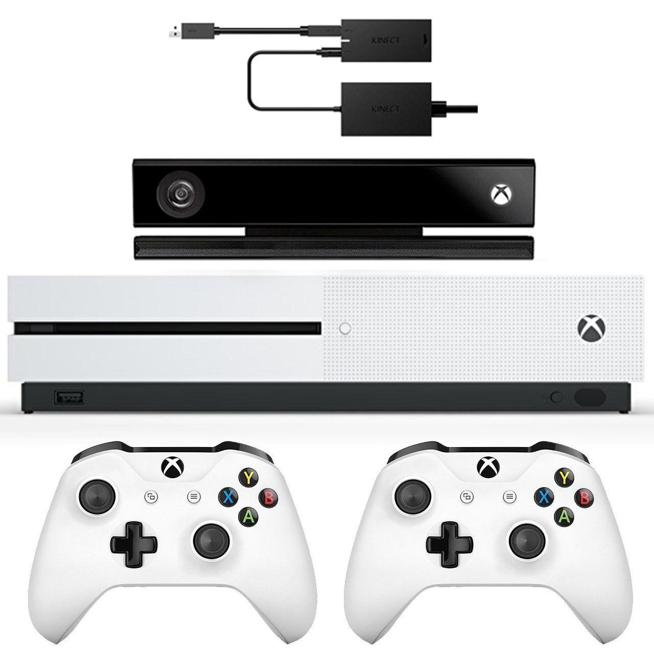 مشخصات و قیمت خرید کنسول بازی مایکروسافت مدل Xbox One S ظرفیت 1 ترابایت