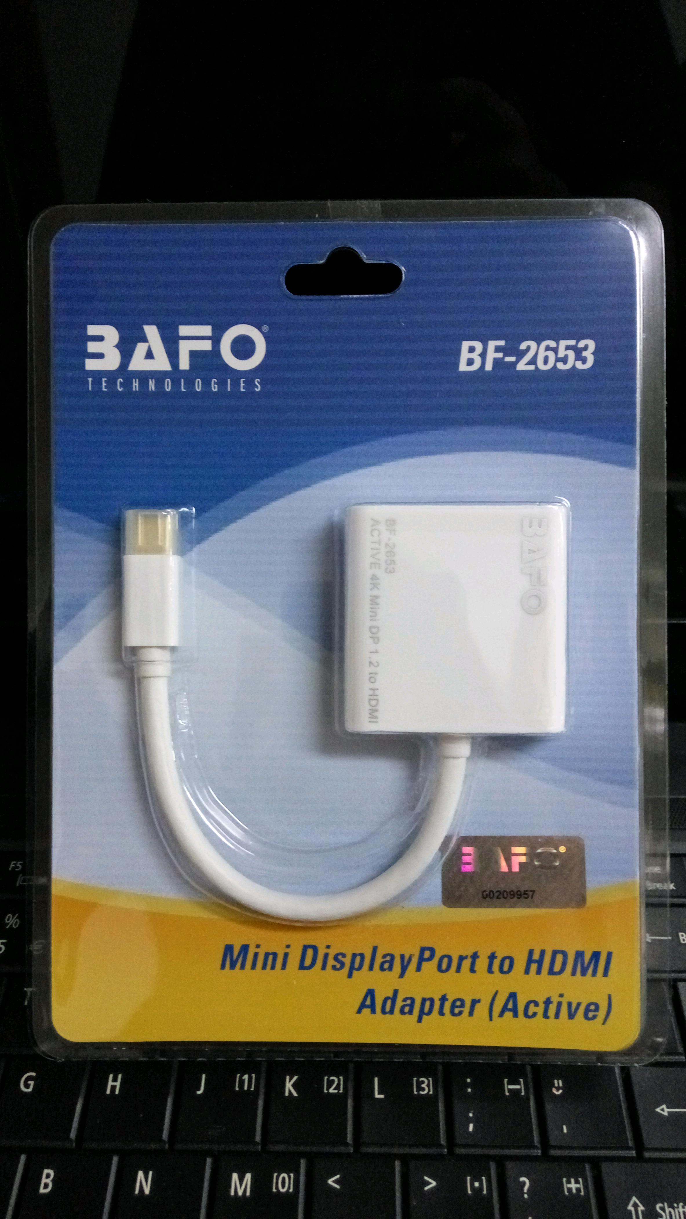 قیمت خرید کابل تبدیل Mini Display به HDMI بافو مدل BF-2653