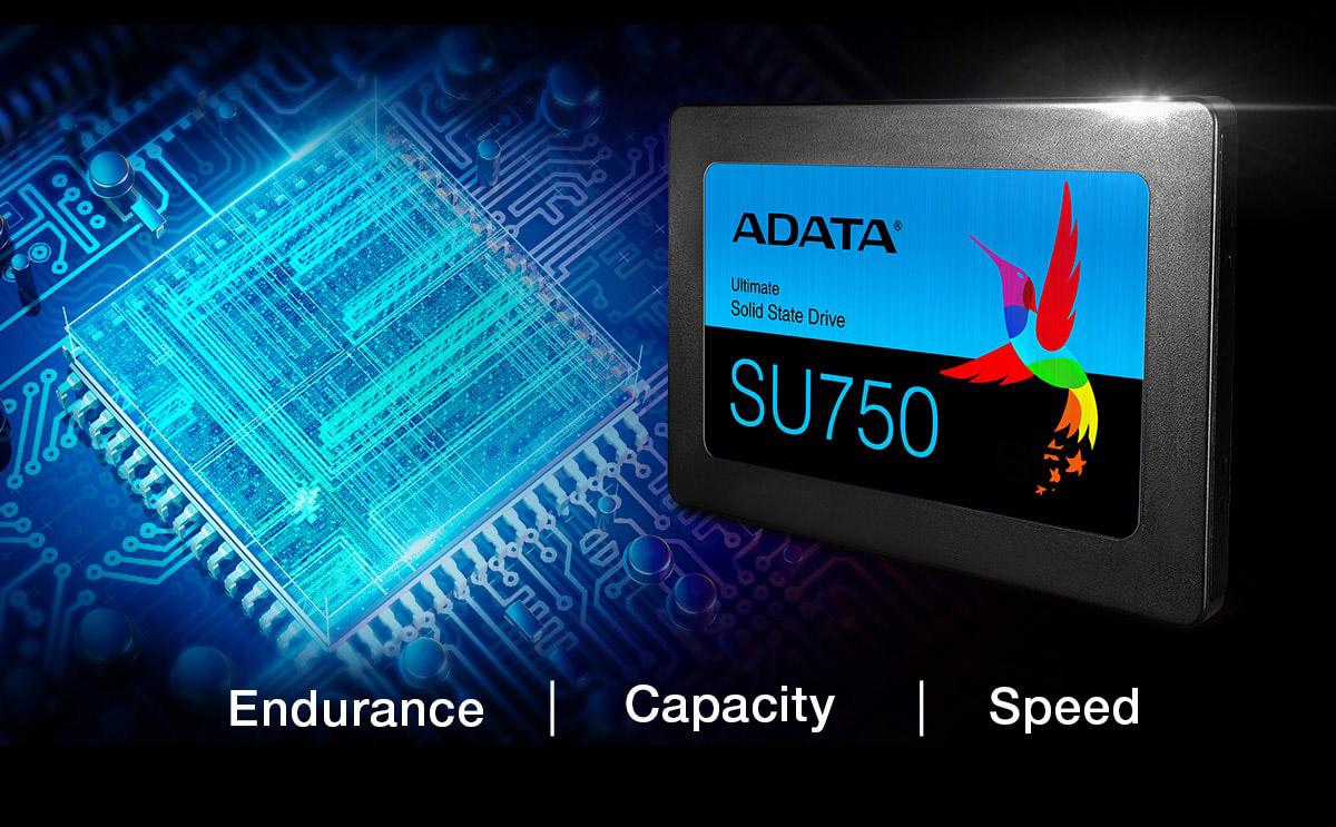 اس اس دی اینترنال ای دیتا مدل su750 ظرفیت 512 گیگابایت