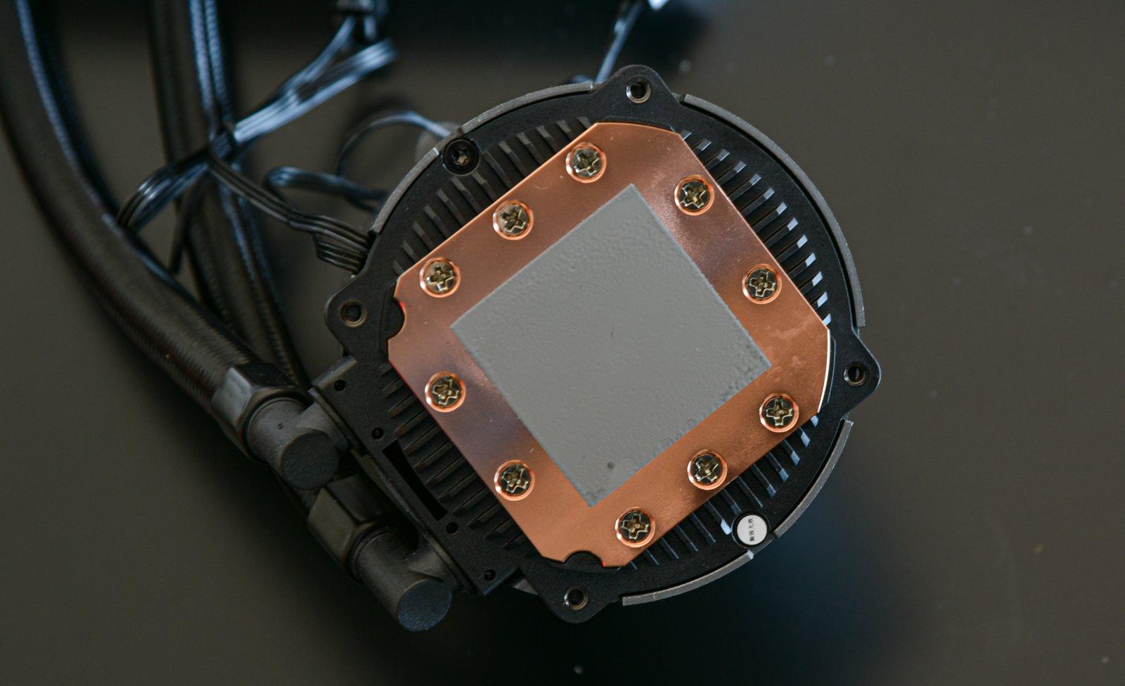 قیمت خنک کننده مایع سی پی یو دیپ کول مدل CASTLE 240 RGB V2