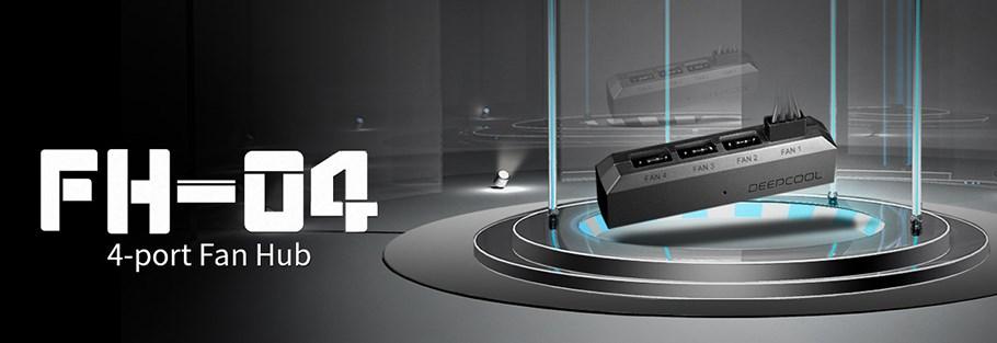 هاب فن ۴ پورت دیپ کول مدل FH-04