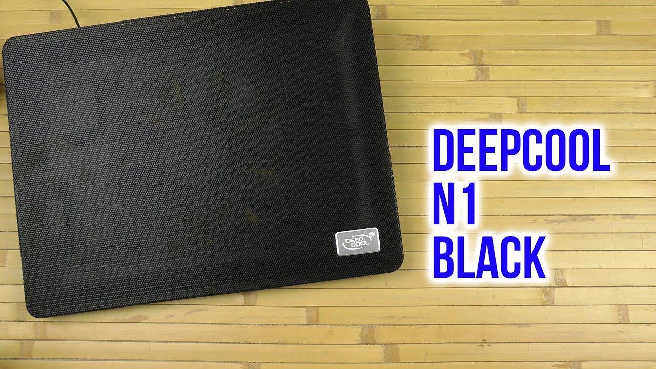 پایه خنک کننده لپ تاپ دیپ کول مدل N1 Black