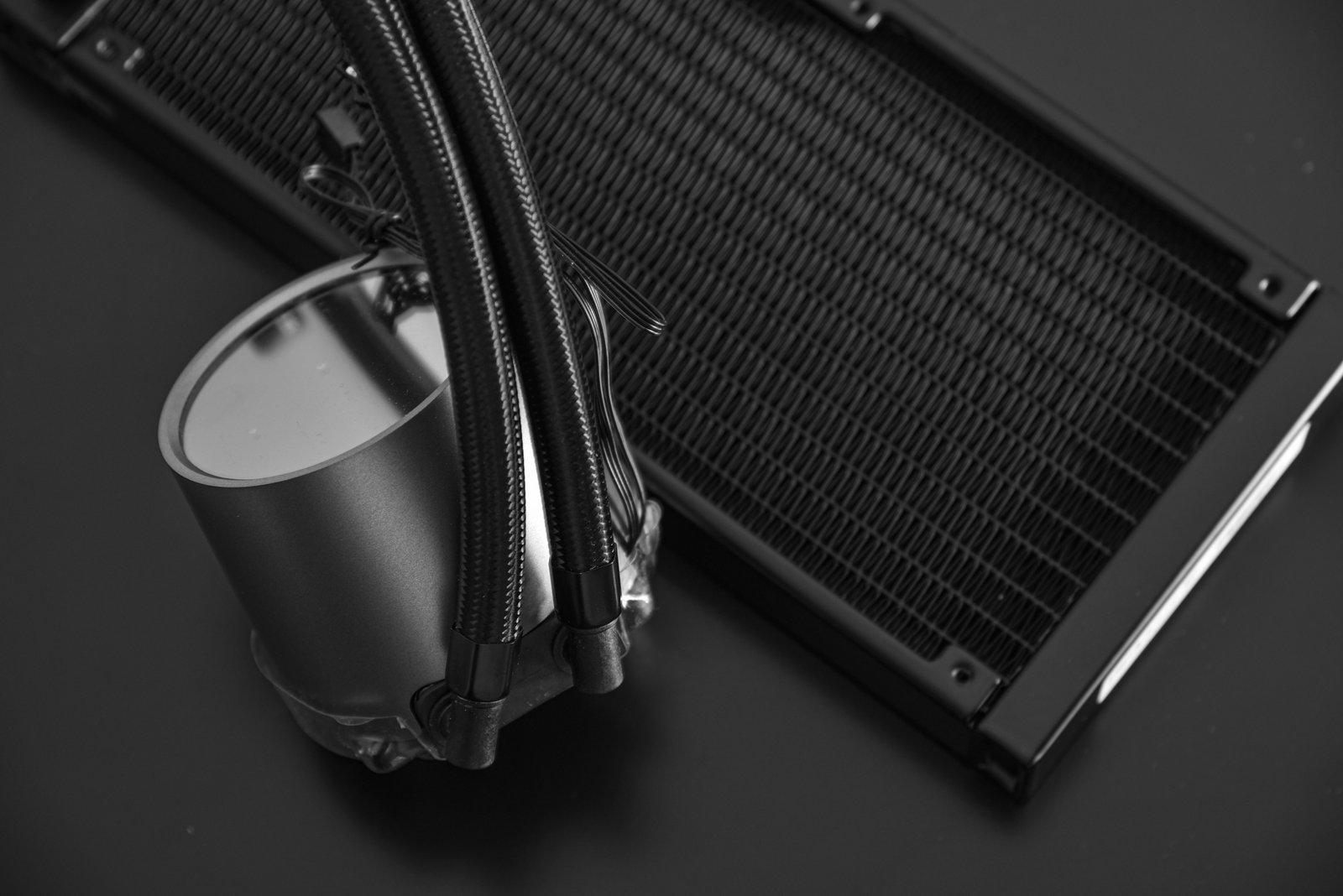 خنک کننده مایع سی پی یو دیپ کول مدل CASTLE 240 RGB V2
