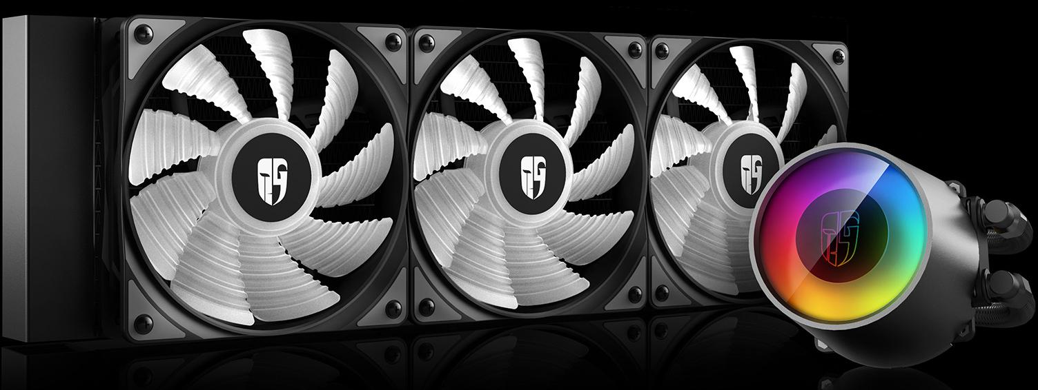 خنک کننده مایع سی پی یو دیپ کول مدل CASTLE 360 RGB V2