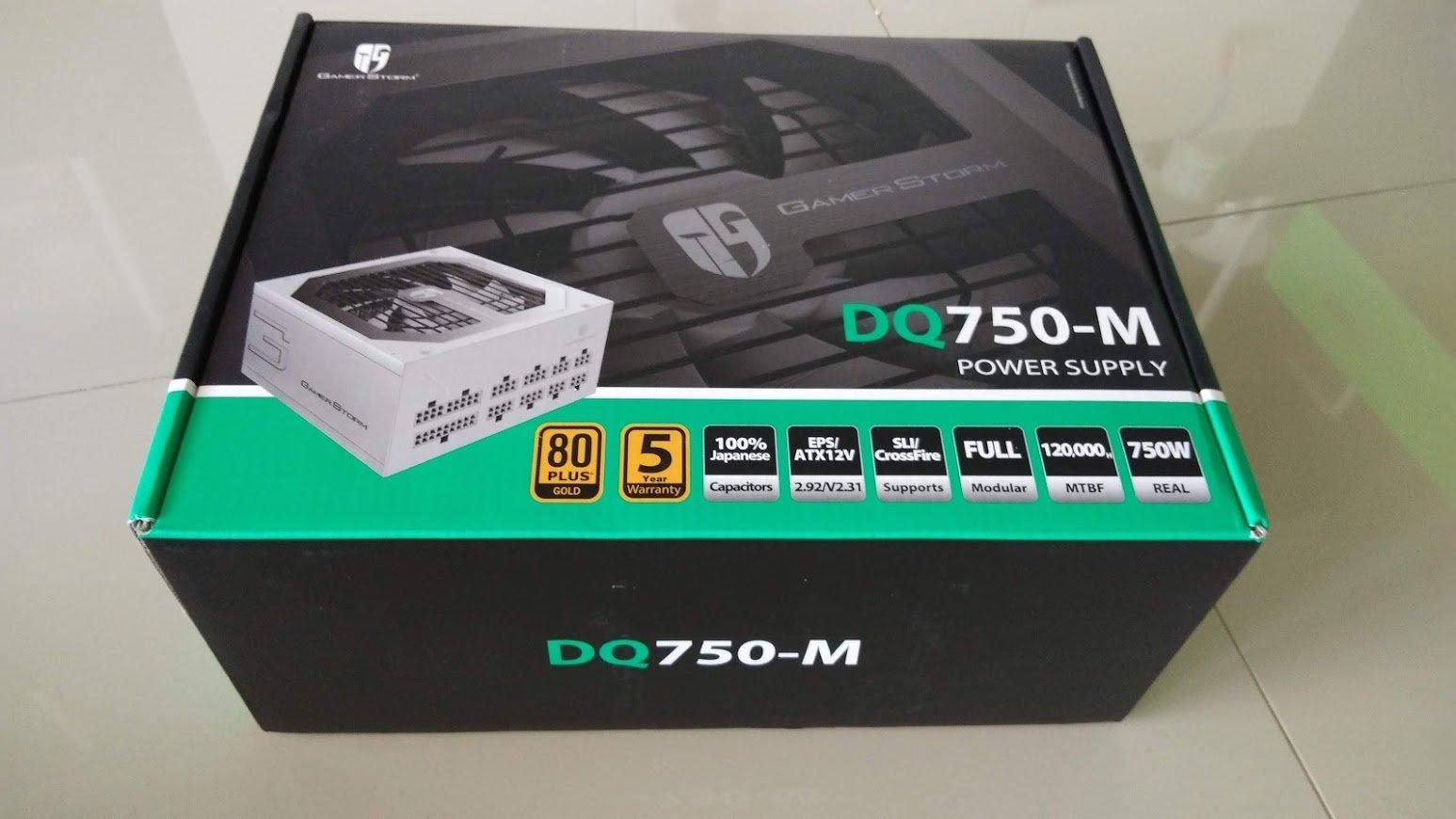 پاور دیپ کول مدل DQ750-M