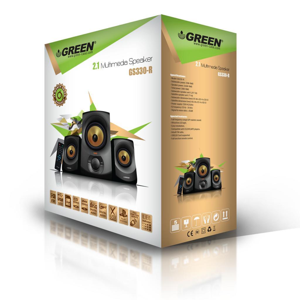 قیمت اسپیکر گرین مدل GS330 BT