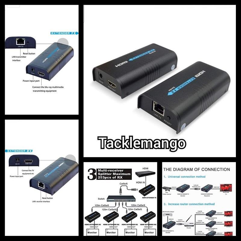 انتقال دهنده و توسعه دهنده صوت و تصویر کابلی لنکنگ مدل LKV373A