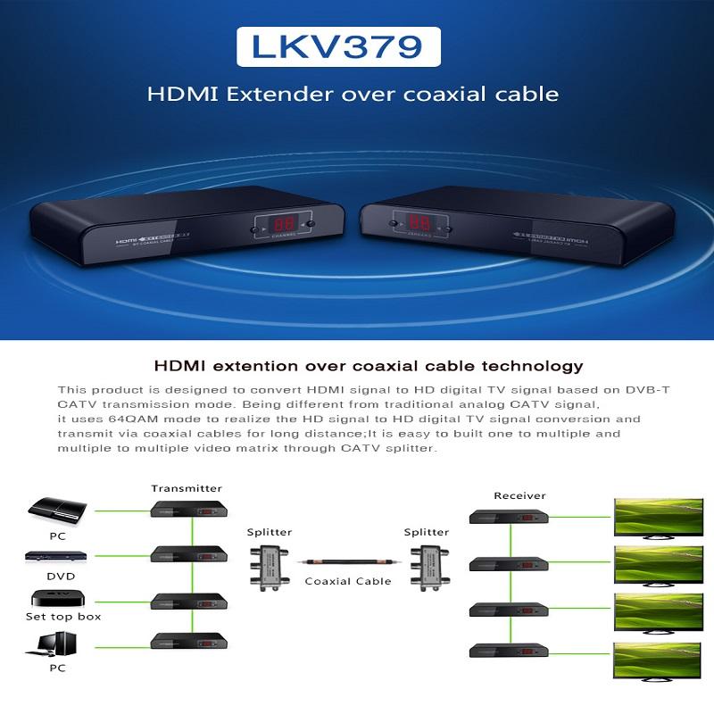 اکستندر HDMI لنکنگ مدل LKV379