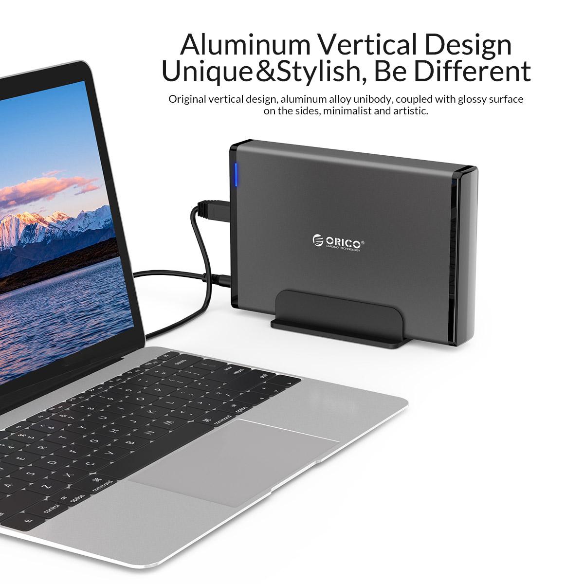 مشخصات و قیمت خرید و فروش باکس اکسترنال هارد دیسک 3.5 اینچ USB3.0 اوریکو مدل 7688U3-EU-BK-BP