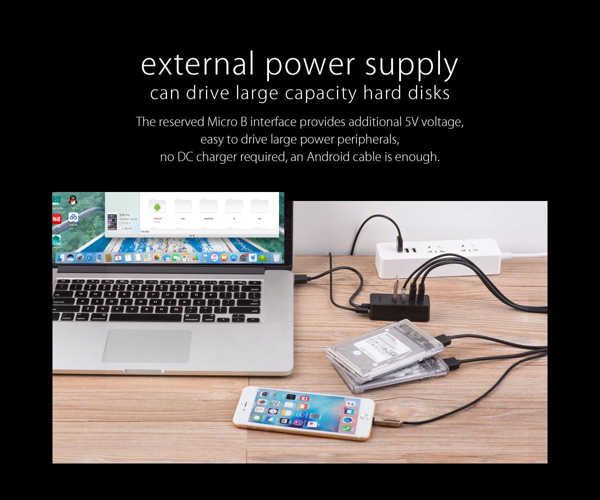 قیمت خرید هاب 4 پورت USB 2.0 اوریکو مدل W5P-U2-100-BK-PRO-CN