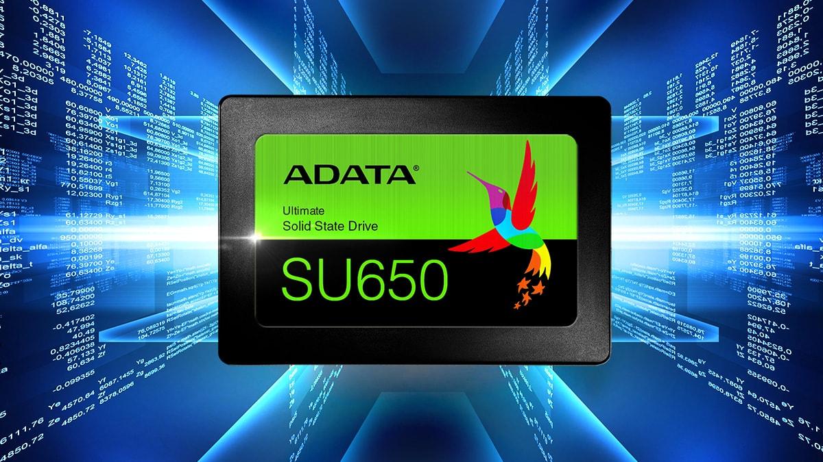 قیمت خرید اس اس دی ای دیتا مدل SU650 با ظرفیت 240 گیگابایت