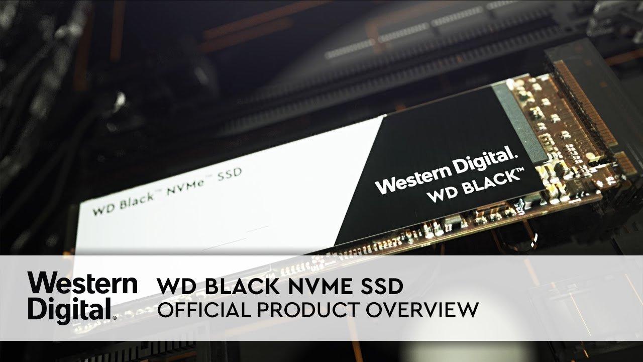 حافظه اس اس دی وسترن دیجیتال مدل بلک M.2 2280 PCIe NVMe ظرفیت 500 گیگابایت