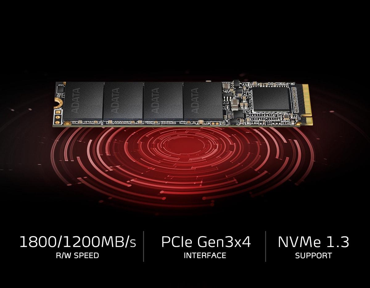 اس اس دی اینترنال ای دیتا مدل XPG SX6000 M.2 2280 با ظرفیت 128 گیگابایت